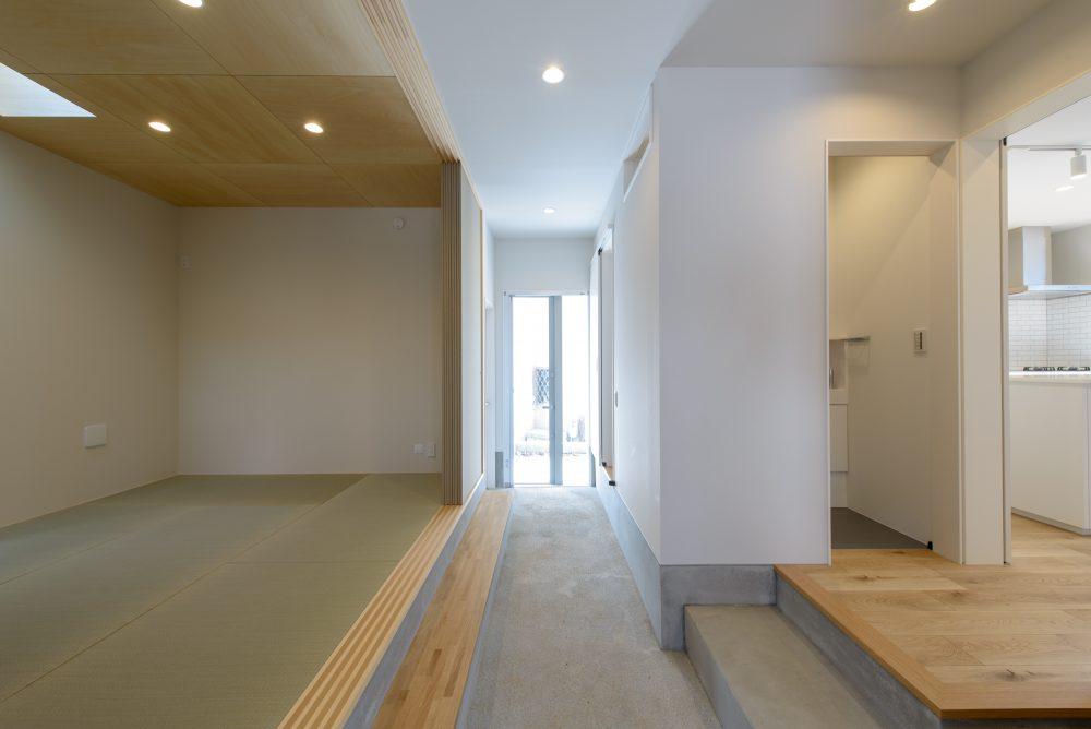 湘南の土間で繋がる動線バッチリなデザイン住宅